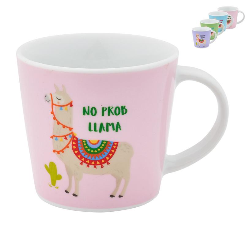 Mok lama -diverse kleuren 32 cl