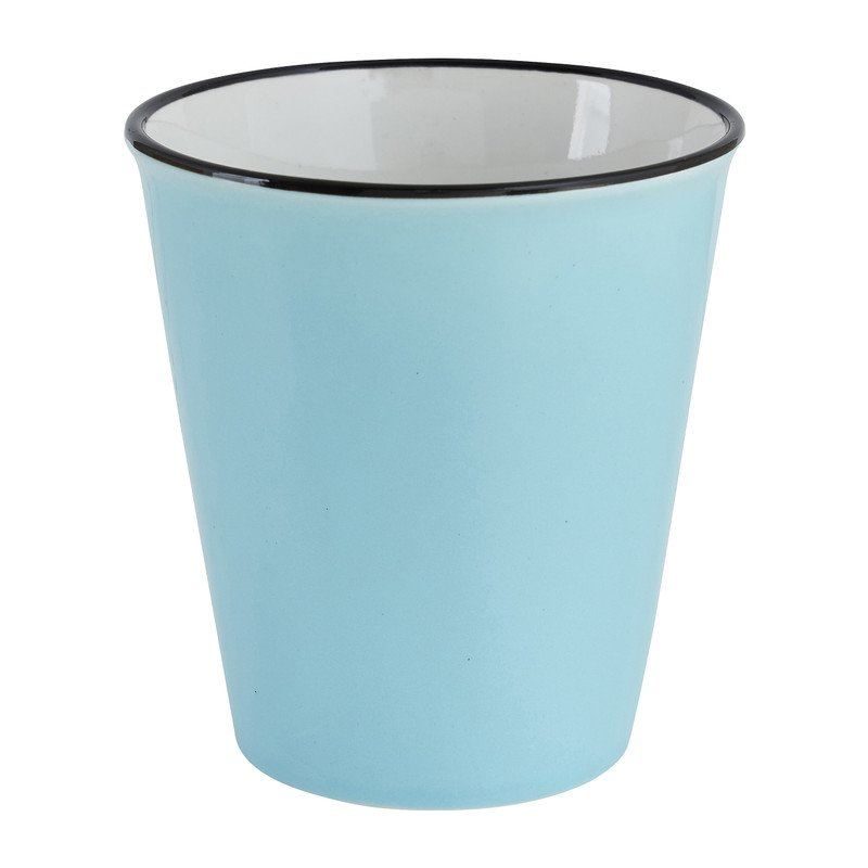 Melkbeker blauw 34 cl