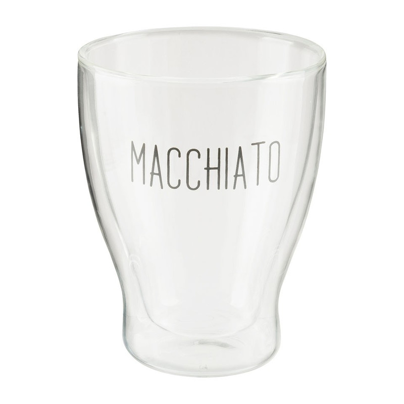 Dubbelwandig macchiatoglas - 35cl