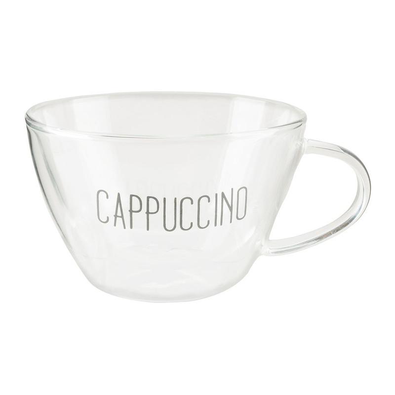 Dubbelwandig cappuccinoglas – 30 cl
