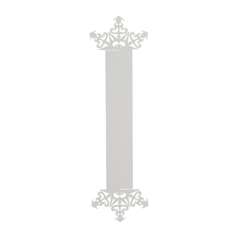 Servetring Sneeuw - zilver - set van 6