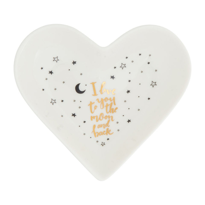 Schaaltje love you to the moon - 14 cm