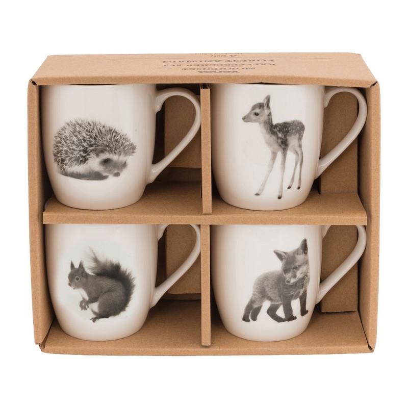 Mok forest animals - set van 4