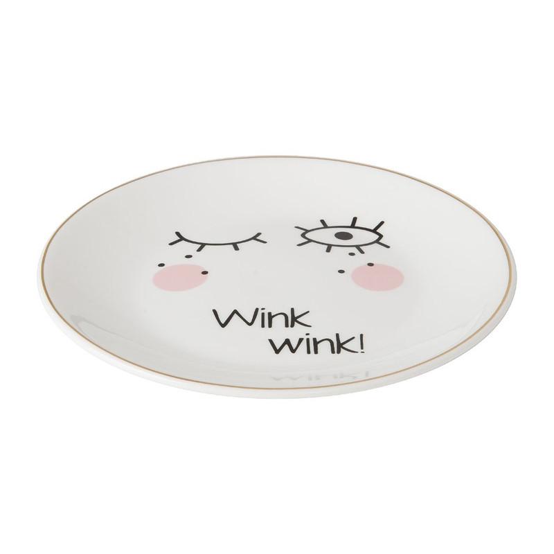 Ontbijtbord wink - 20 cm