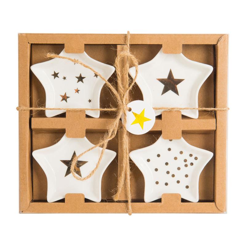 Schaaltjes ster - set van 4