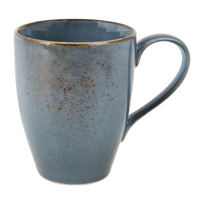 Mug colour glaze - 35 cl - grijs