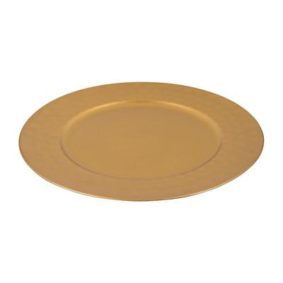 Onderbord - goud - 32 cm
