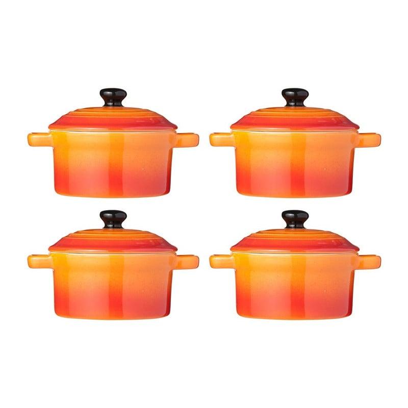 Cocottes - set van 4