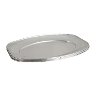 Ovale schaal - zilver - 43 cm - 5 stuks