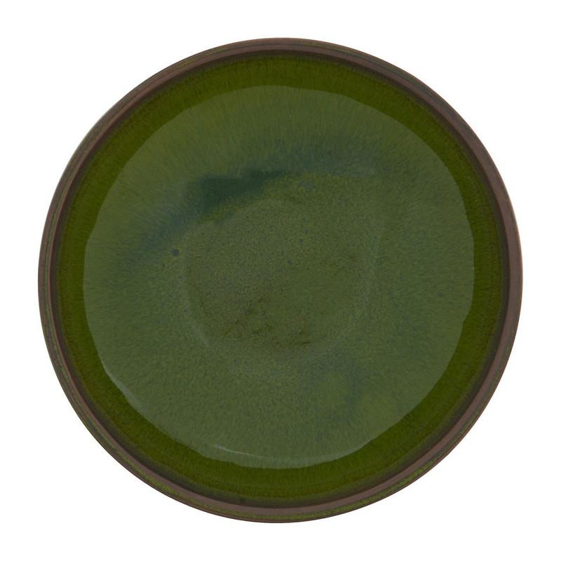 Selena schaaltje - 11.5 cm - groen