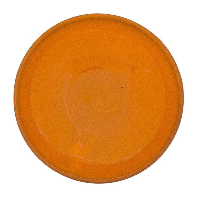 Selena schaaltje - 11.5 cm - oranje