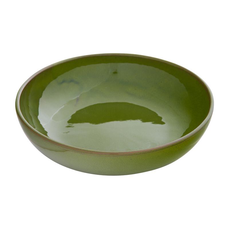 Schaal Selena - groen - 22 cm