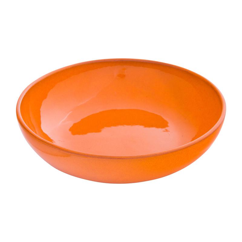 Schaal Selena - oranje - 22 cm