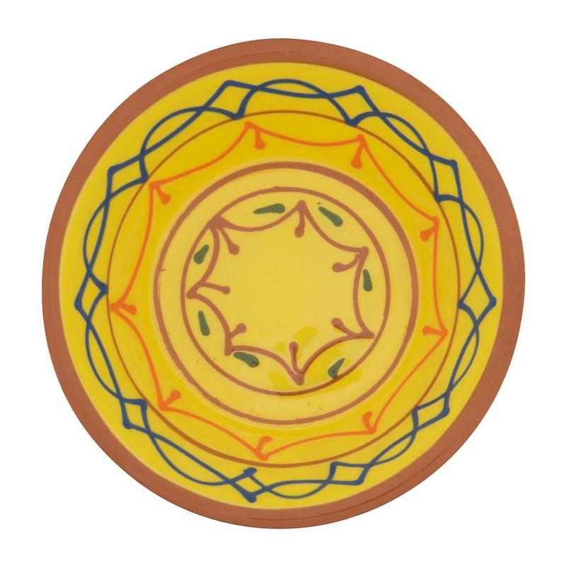 Schaal Fiesta - 11 cm - geel