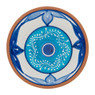 Schaal Lagoon - 15 cm - blauw