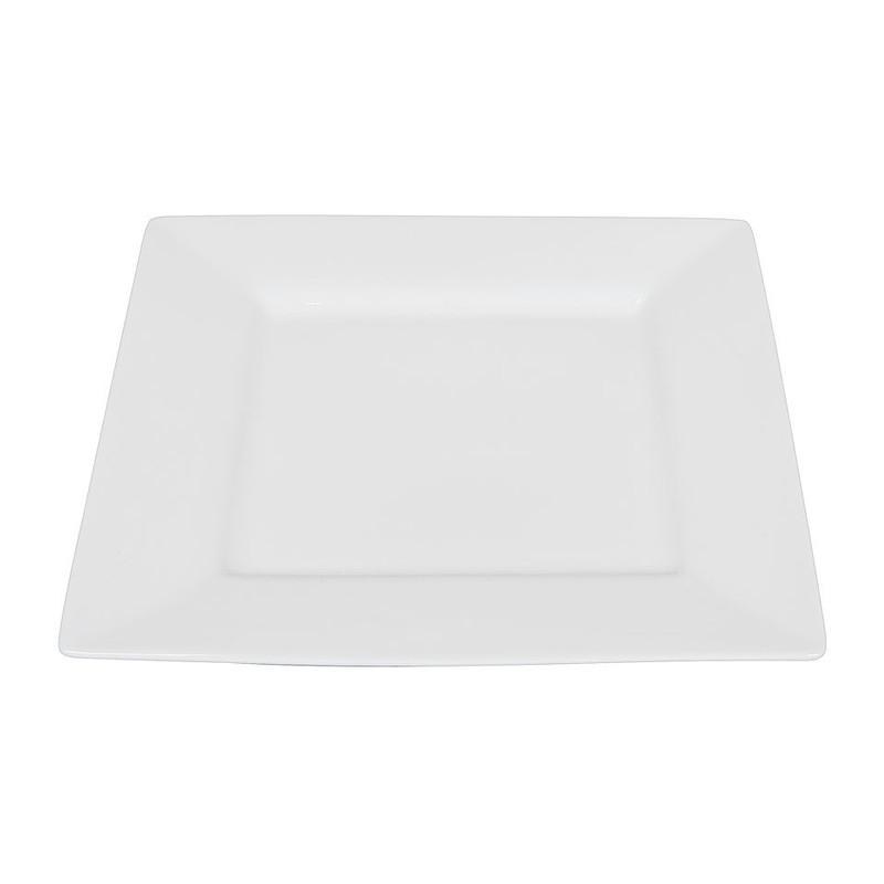 Ontbijtbord vierkant - 22 cm