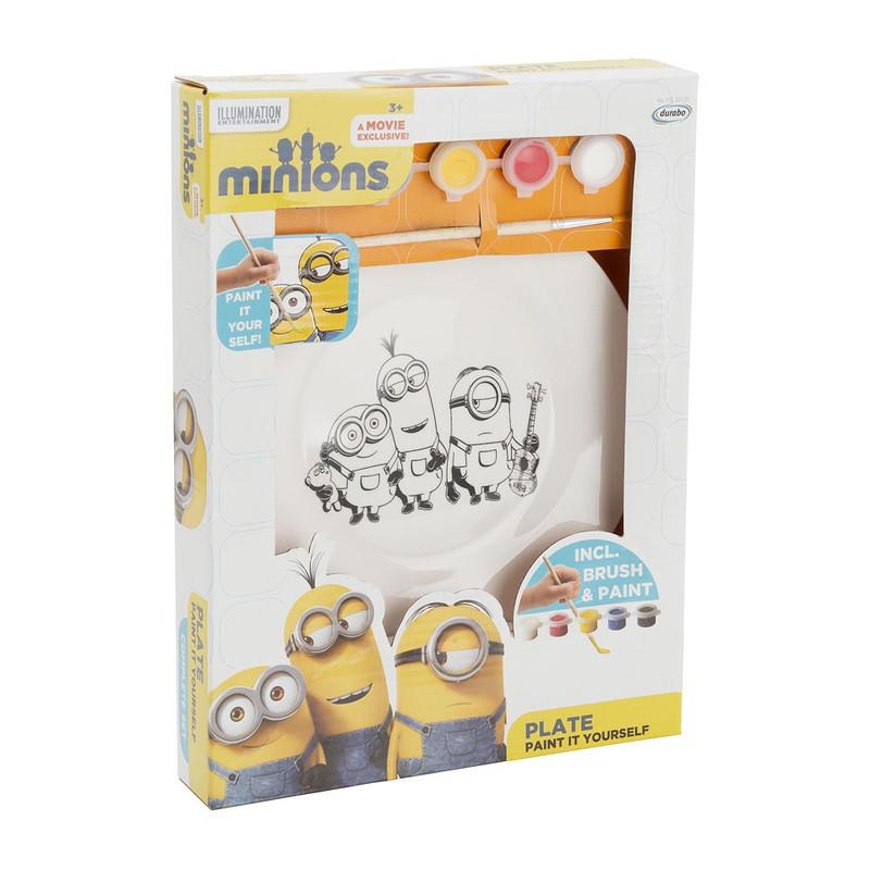 Minions bord met kleurset