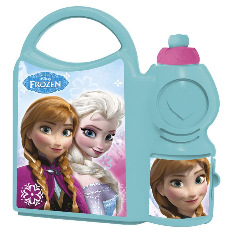 Comboset Frozen - lunchbox met drinkfles