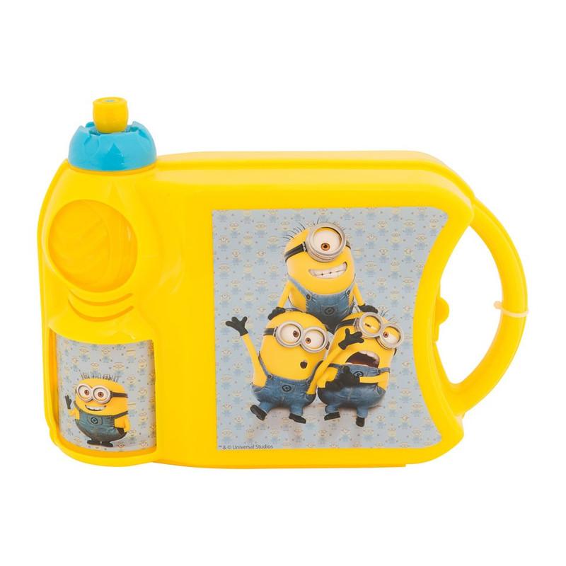 Comboset Minions -  lunchbox met drinkbeker