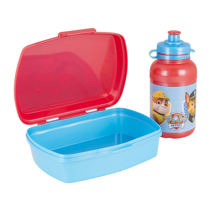 Lunchbox en drinkfles - Paw Patrol