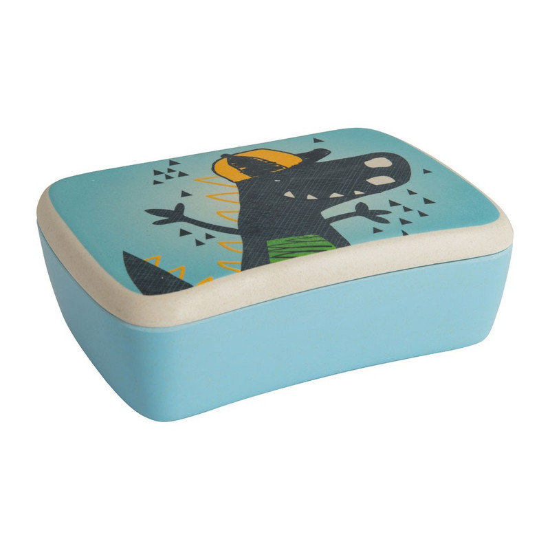 Lunchbox bamboe - dino