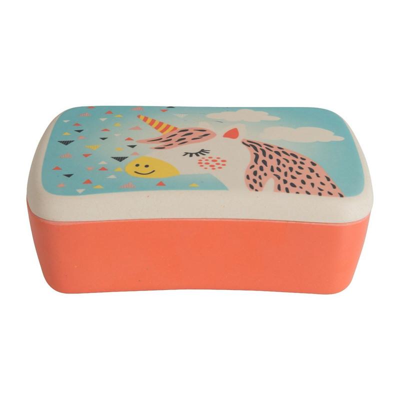 Lunchbox bamboe - unicorn