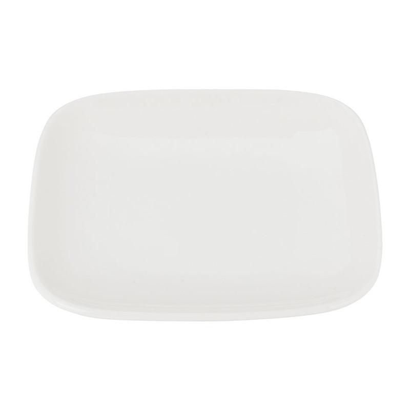 Petit four bordje vierkant met ronde hoeken - 11.5 cm