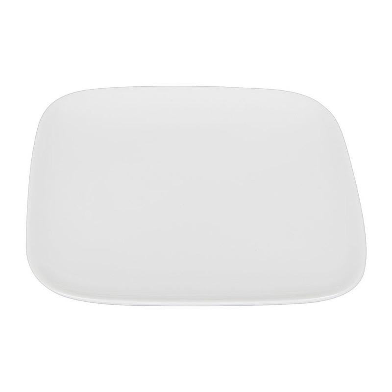 Gebaksbord vierkant met ronde hoeken - 17 cm