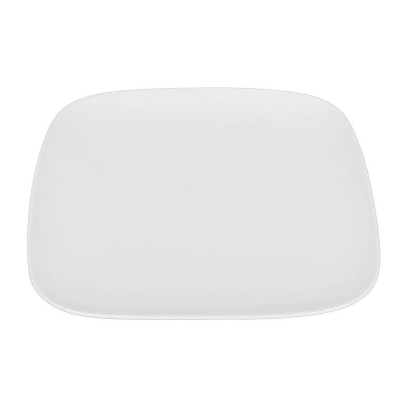 Dinerbord vierkant met ronde hoeken - 26 cm