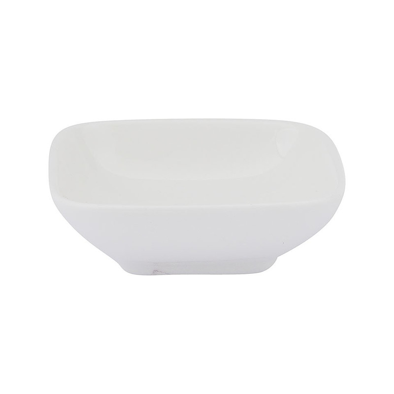 Sausschaaltje vierkant met ronde hoeken - 7 cm