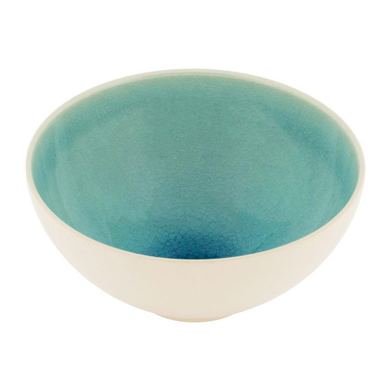 Schaal Vagos - 15 cm - turquoise