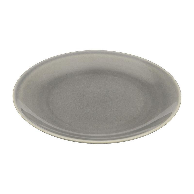 Ontbijtbord Vagos - 21 cm - grijs