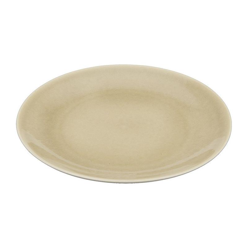 Ontbijtbord Vagos - 21 cm - taupe
