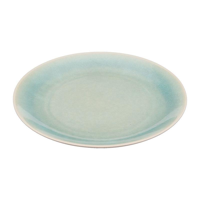 Ontbijtbord Vagos - 21 cm - turquoise