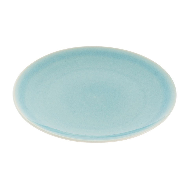Dinerbord Vagos - 27 cm - turquoise