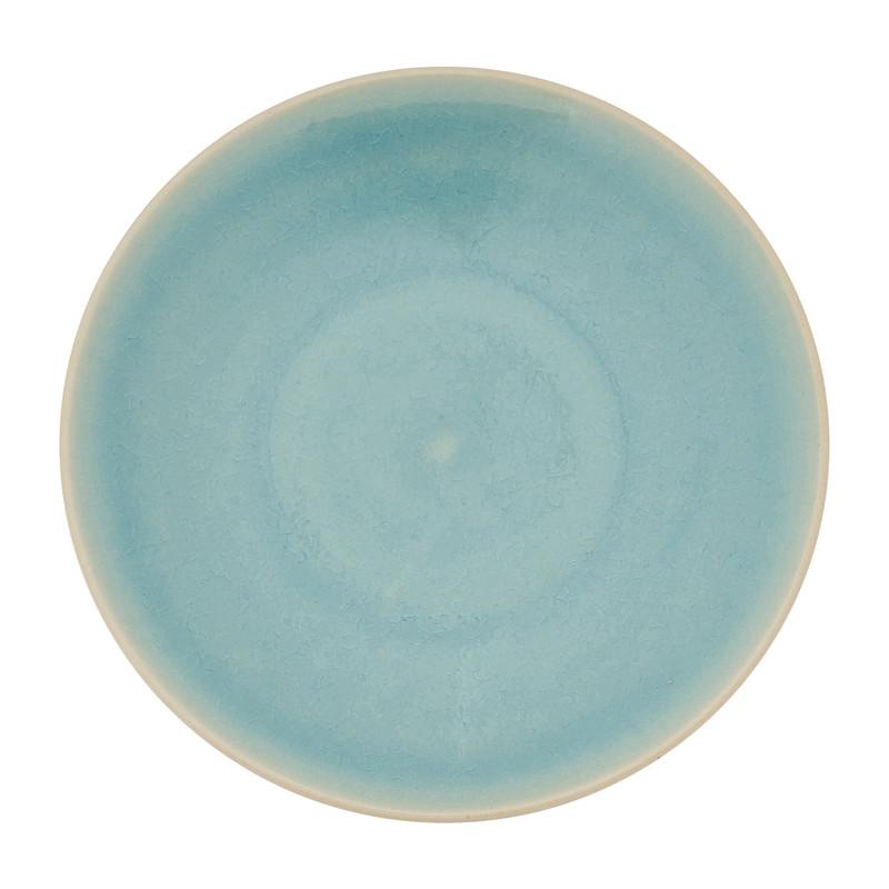 Gebaksbord Vagos - 17 cm - turquoise