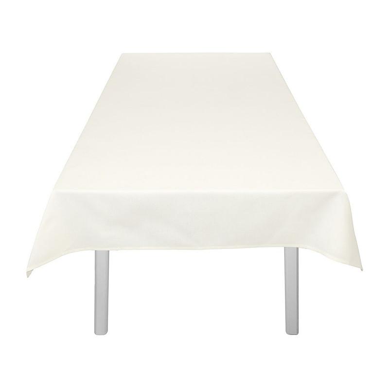 Tafelkleed uni wit