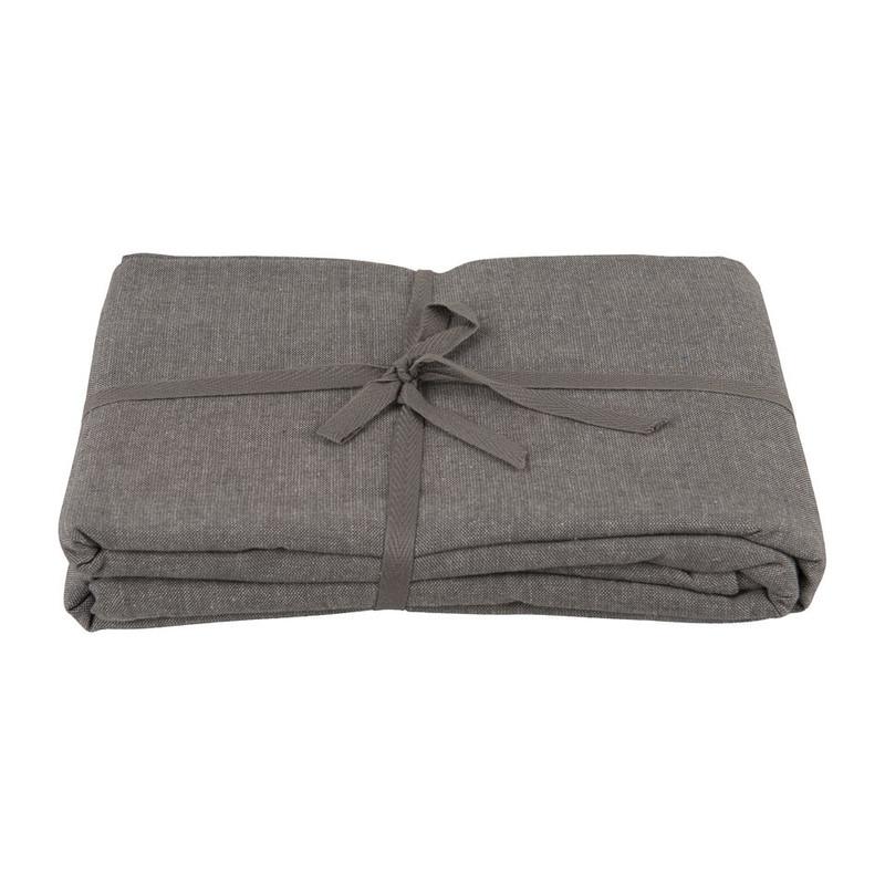 Tafelkleed uni - 240x140 cm - grijs