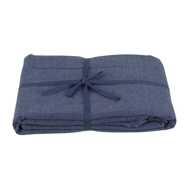 Tafelkleed uni - 240x140 cm - blauw