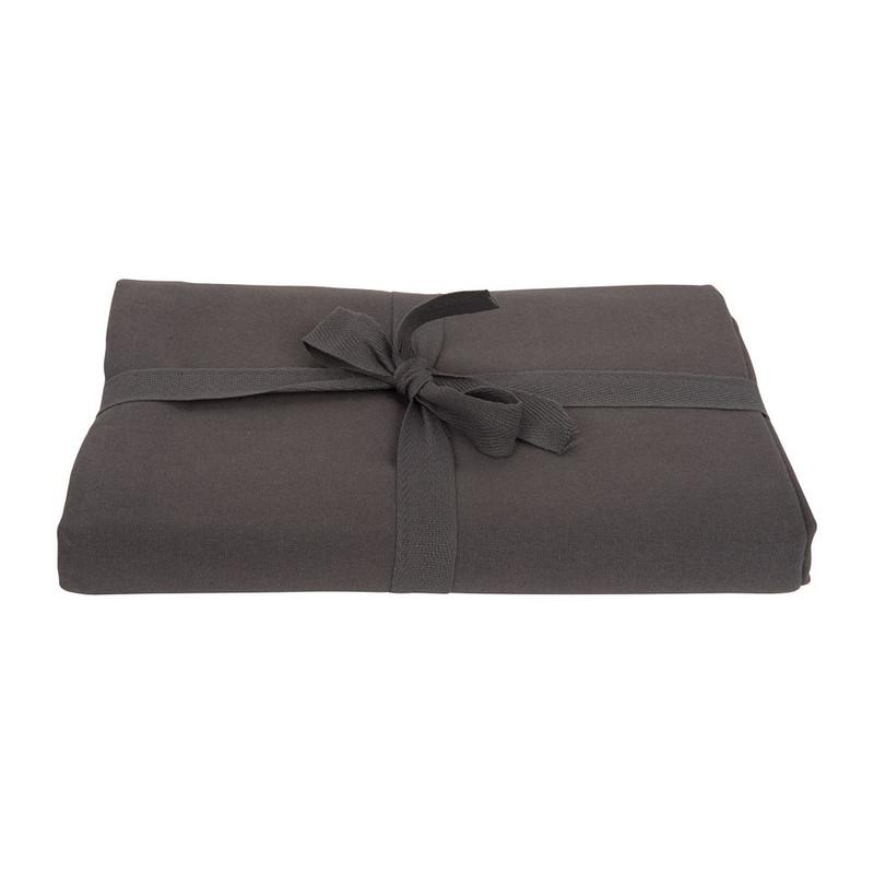 Tafelkleed uni - 180x140 cm - donkergrijs