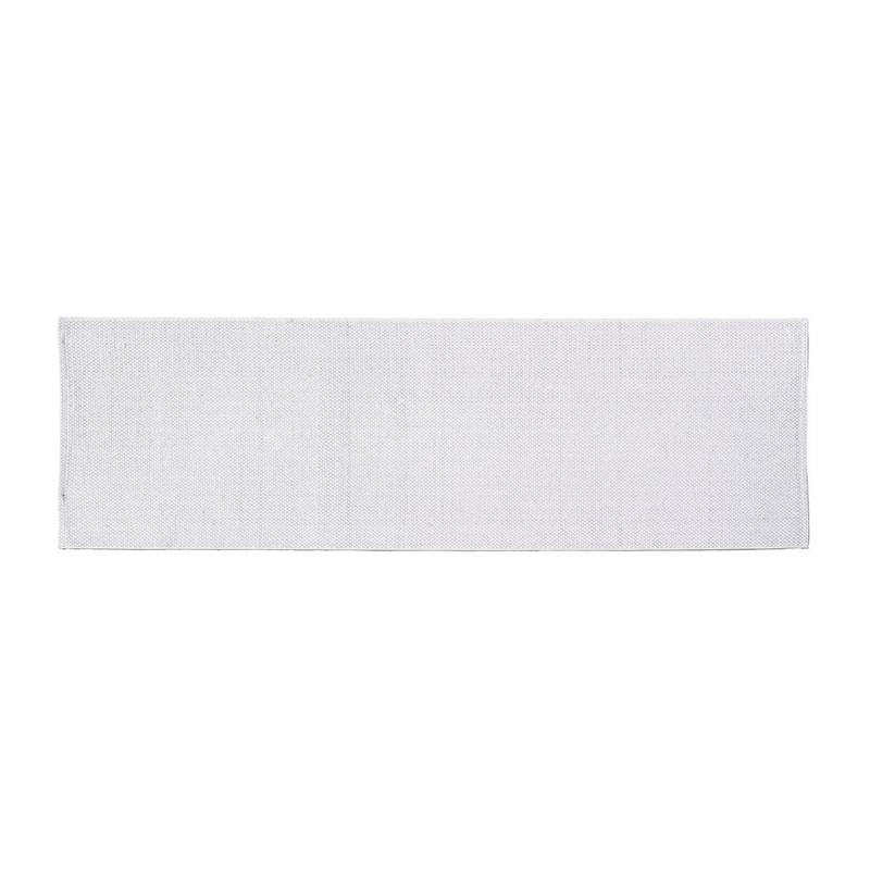 Tafelloper wafel - 45x150 cm - wit
