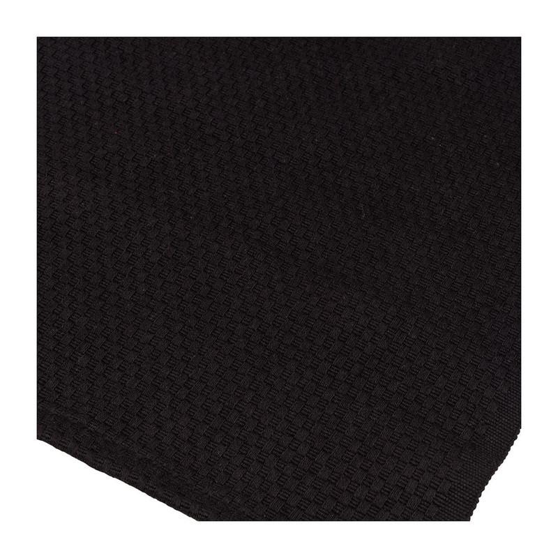 Tafelloper wafel - 45x150 cm - zwart