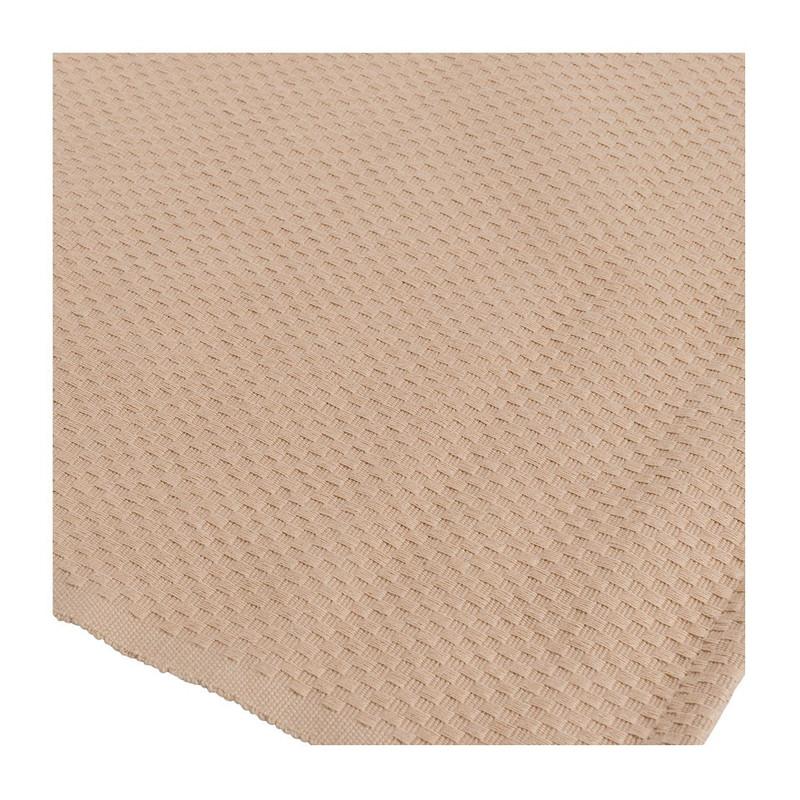 Tafelloper wafel - 45x150 cm - beige
