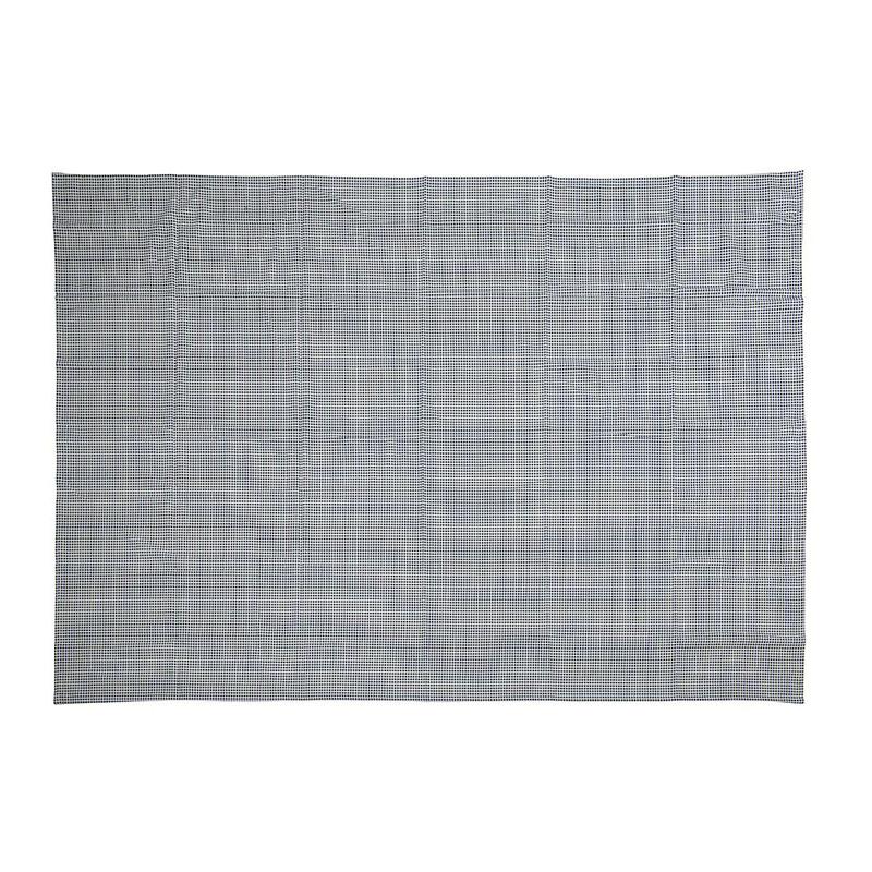 Tafelkleed blokjes - blauw - 140x200 cm