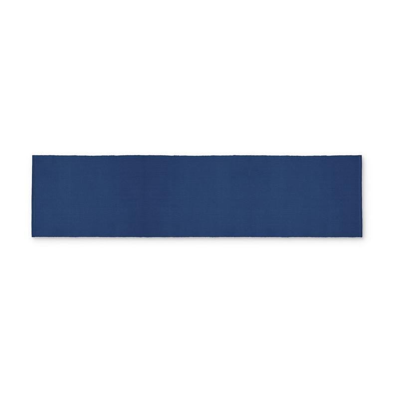 Tafelloper rib - donkerblauw