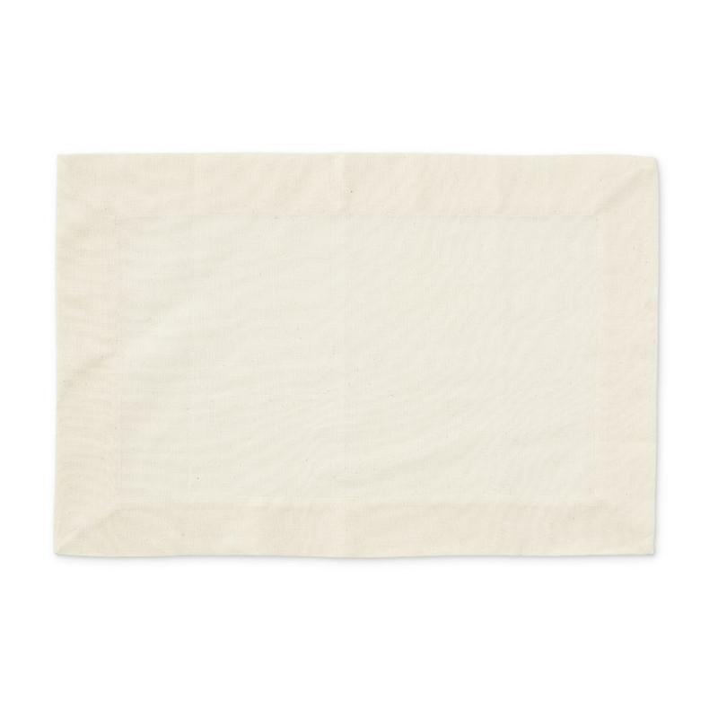 Placemat basis - 33x48 cm - crème