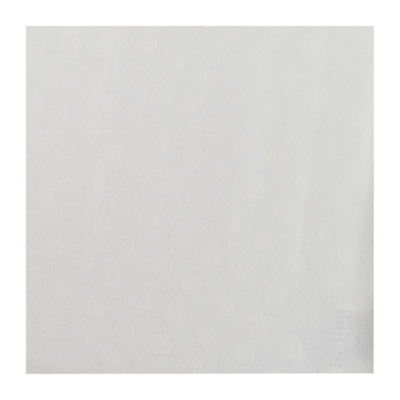 Placemat stip - 33x48 cm - wit