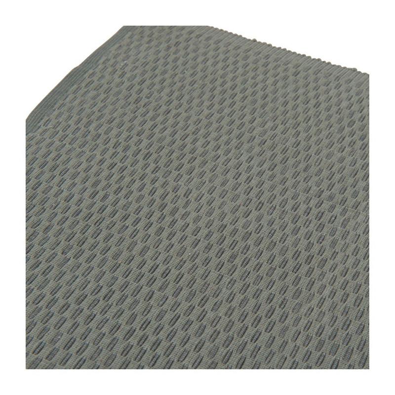 Placemat streepje - 33x48 cm - grijs