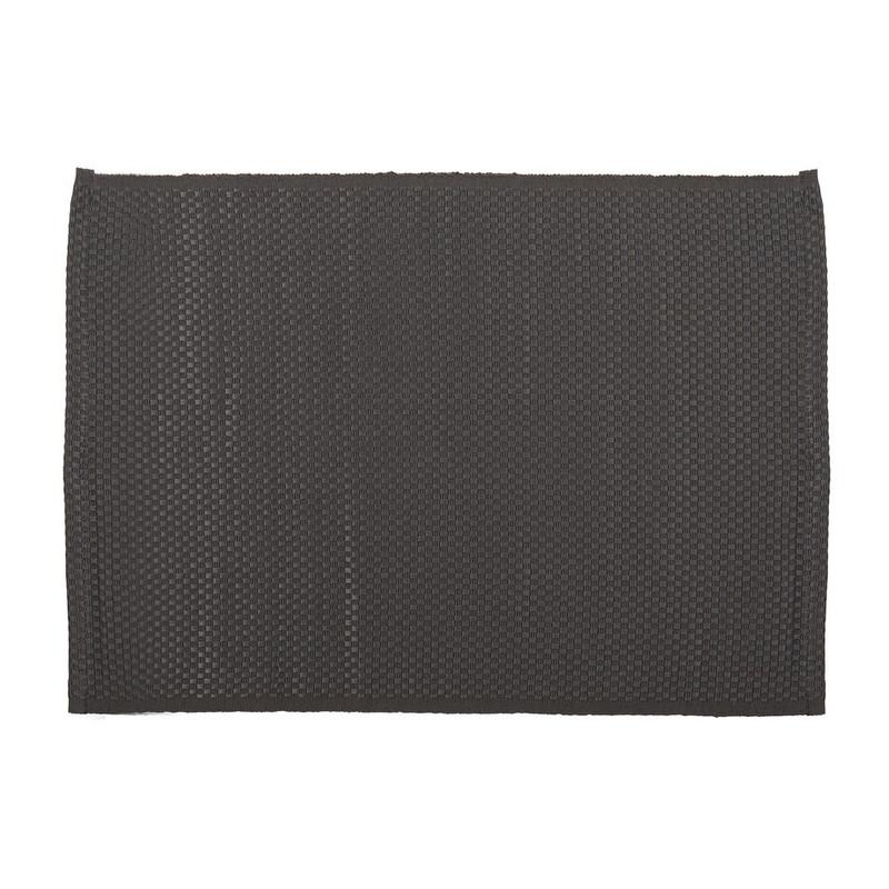 Placemat wafel - 33x48 cm - grijs