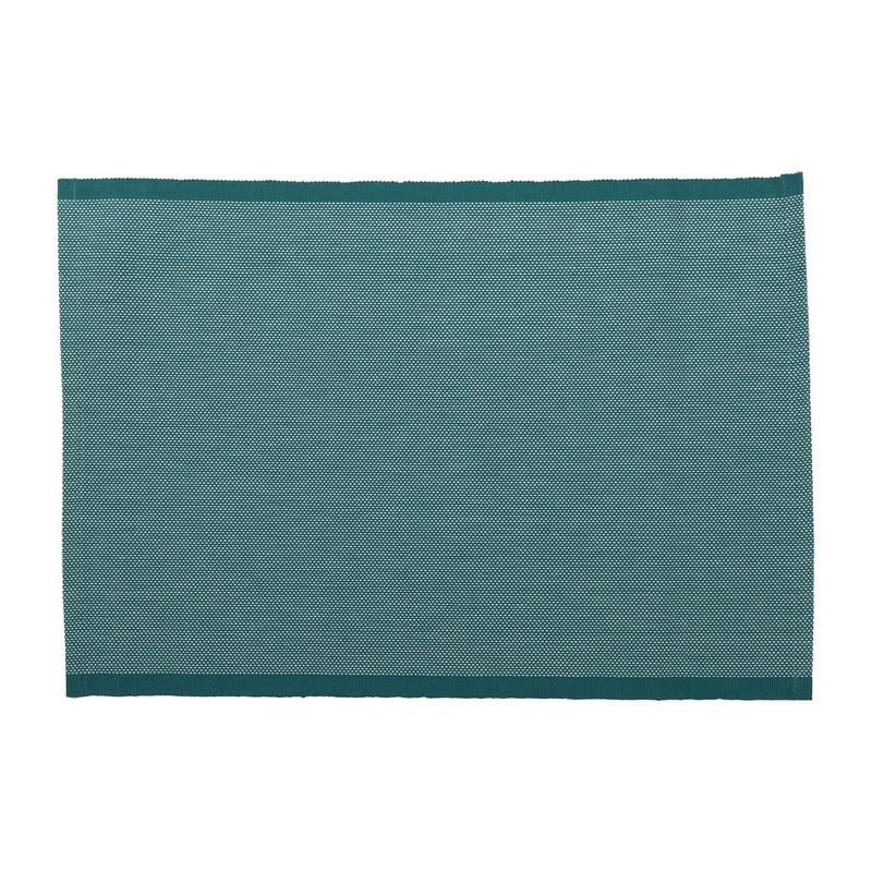 Placemat stipjes - 33x48 cm - turquoise